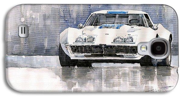 Car Galaxy S4 Case - Chevrolet Corvette C3 by Yuriy Shevchuk