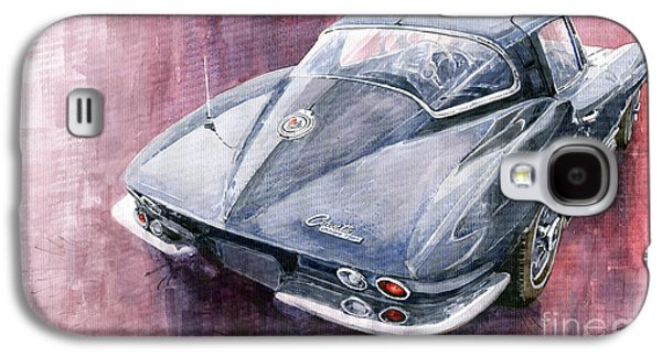 Chevrolet Corvette Sting Ray 1965 Galaxy S4 Case by Yuriy  Shevchuk