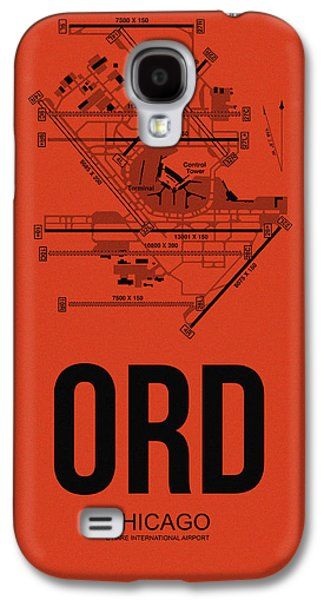 Chicago Airport Poster 1 Galaxy S4 Case
