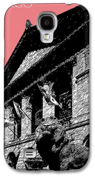 Chicago Art Institute Of Chicago - Light Red Galaxy S4 Case by DB Artist