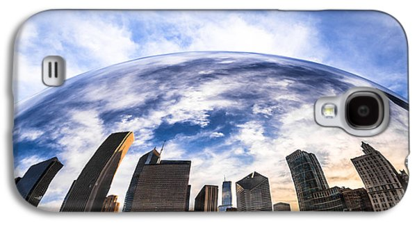 Chicago Bean Cloud Gate Skyline Galaxy S4 Case by Paul Velgos