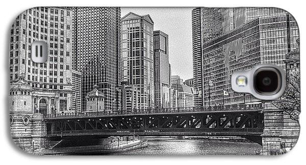 #chicago #blackandwhite #urban Galaxy S4 Case
