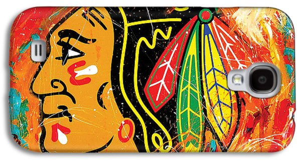 Chicago Blackhawks Logo Galaxy S4 Case