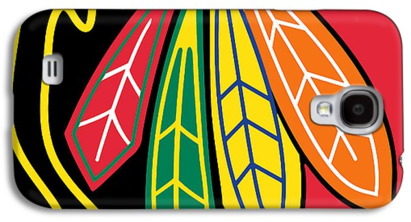 Chicago Blackhawks Galaxy S4 Case