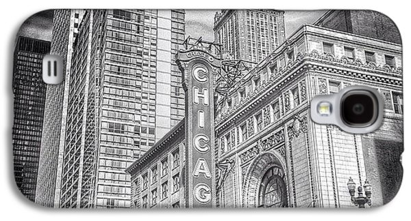City Galaxy S4 Case - #chicago #chicagogram #chicagotheatre by Paul Velgos