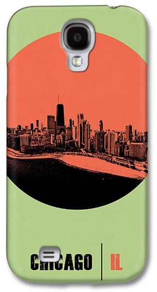 Chicago Circle Poster 1 Galaxy S4 Case
