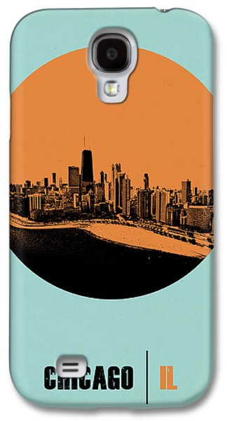 Chicago Circle Poster 2 Galaxy S4 Case