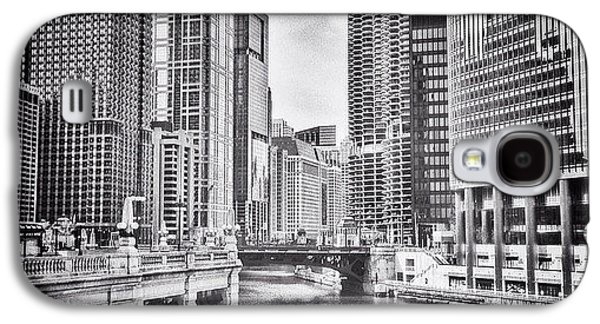 City Galaxy S4 Case - #chicago #cityscape #chicagoriver by Paul Velgos