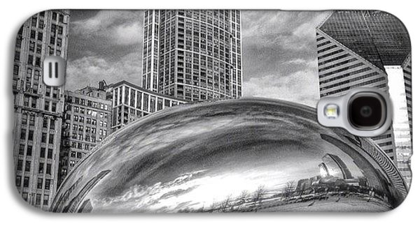 Chicago Bean Cloud Gate Hdr Picture Galaxy S4 Case