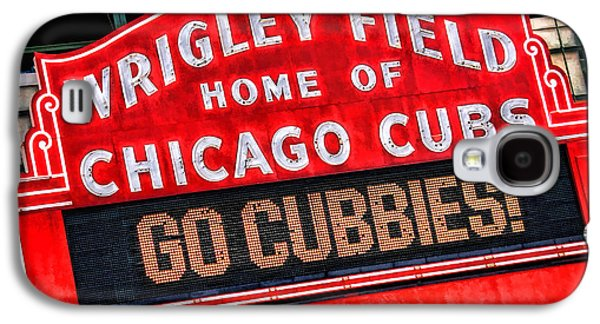 Wrigley Field Galaxy S4 Case - Chicago Cubs Wrigley Field by Christopher Arndt