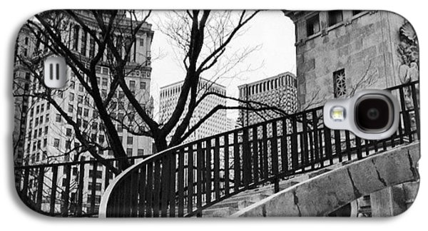 Chicago Staircase Black And White Picture Galaxy S4 Case