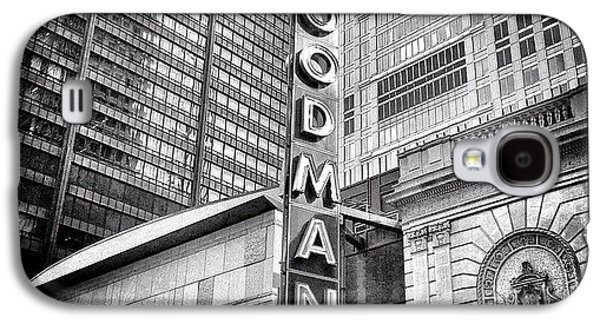 Chicago Goodman Theatre Sign Photo Galaxy S4 Case