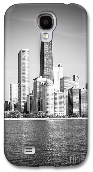 Chicago Hancock Building Black And White Picture Galaxy S4 Case