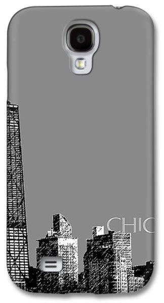 Hancock Building Galaxy S4 Case - Chicago Hancock Building - Pewter by DB Artist