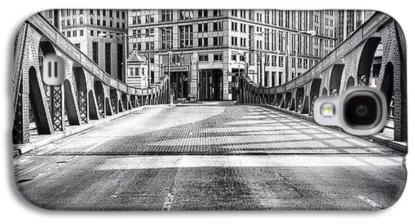 #chicago #hdr #bridge #blackandwhite Galaxy S4 Case