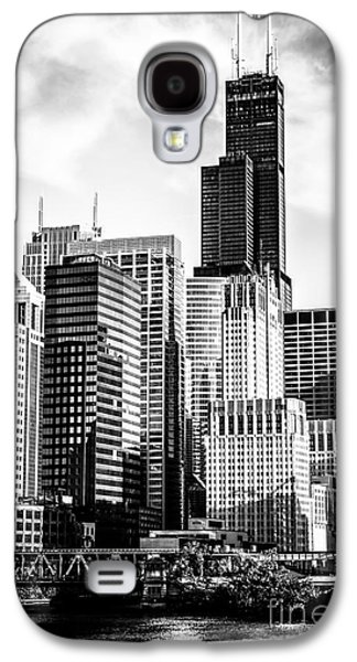 Chicago High Resolution Picture In Black And White Galaxy S4 Case by Paul Velgos