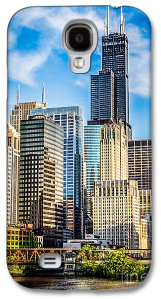 Chicago High Resolution Picture Galaxy S4 Case
