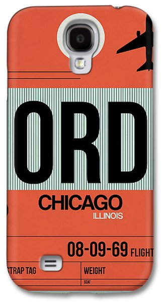 Chicago Luggage Poster 2 Galaxy S4 Case by Naxart Studio