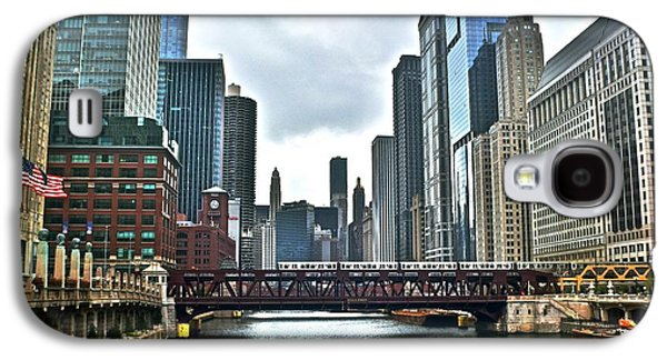 Chicago River And City Galaxy S4 Case