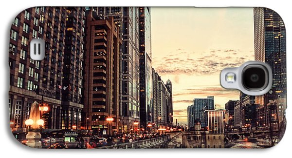 Chicago River November Hdr Galaxy S4 Case by Thomas Woolworth