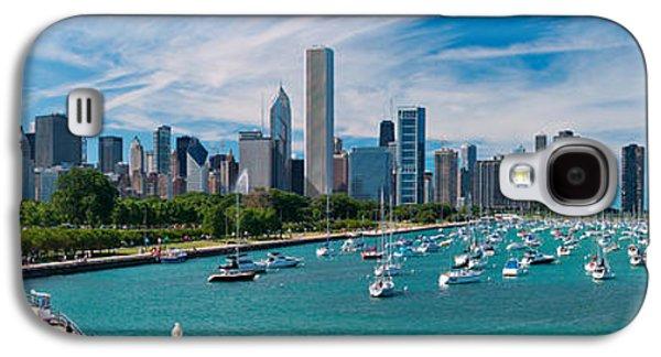 Chicago Skyline Daytime Panoramic Galaxy S4 Case by Adam Romanowicz