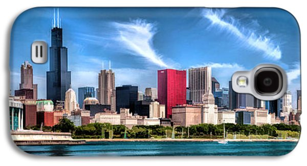 Chicago Skyline Panorama Galaxy S4 Case by Christopher Arndt