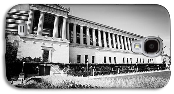 Chicago Solider Field Black And White Picture Galaxy S4 Case by Paul Velgos