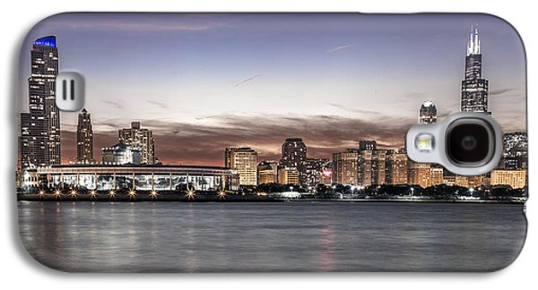 Chicago Sunset Galaxy S4 Case by John McGraw