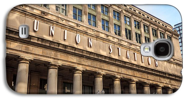 Chicago Union Station Building And Sign Galaxy S4 Case