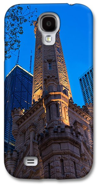 Chicago Water Tower Panorama Galaxy S4 Case by Steve Gadomski