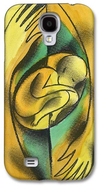 Childbirth Galaxy S4 Case by Leon Zernitsky