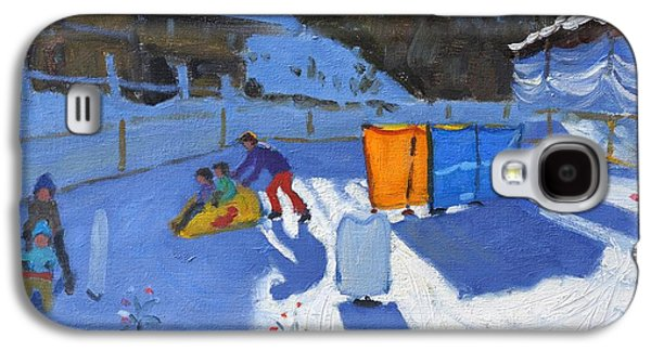 Childrens Ice Rink Galaxy S4 Case by Andrew Macara