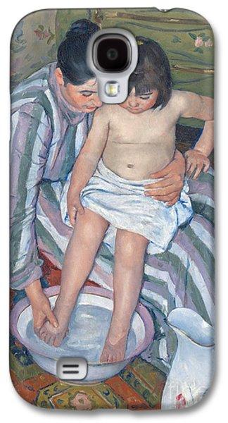 Child's Bath 1893 Galaxy S4 Case by  Mary Stevenson Cassatt