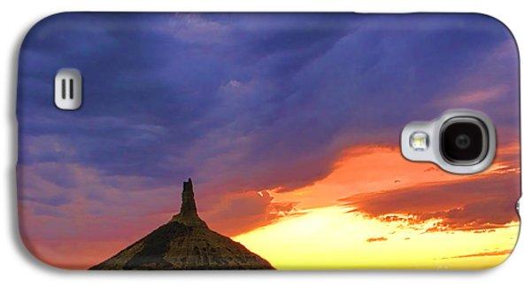 Chimney Rock Nebraska Galaxy S4 Case