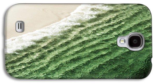 China Beach Wave Ocean Theme Pillow Print Tote Galaxy S4 Case