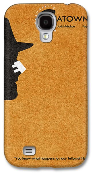 Jack Nicholson Galaxy S4 Case - Chinatown by Inspirowl Design