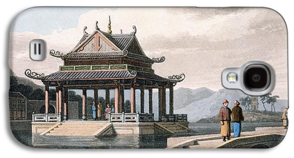 Chinese Pavilion, 1810 Galaxy S4 Case by Thomas & William Daniell
