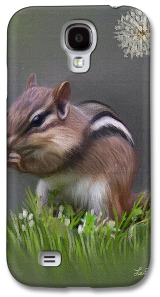 Chipmunk Galaxy S4 Case by Lena Auxier