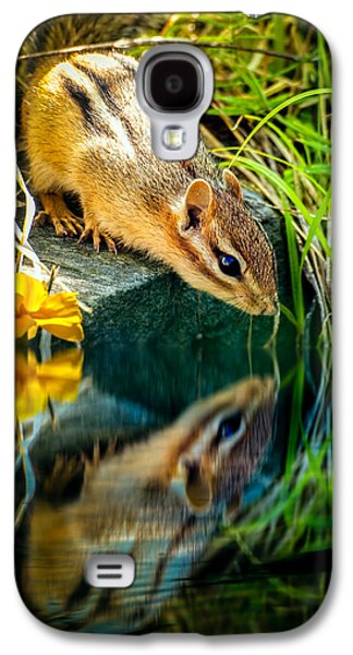 Chipmunk Reflection Galaxy S4 Case