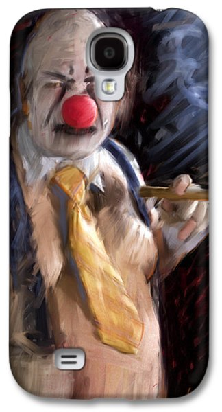 Chippy The Clown Galaxy S4 Case by H James Hoff