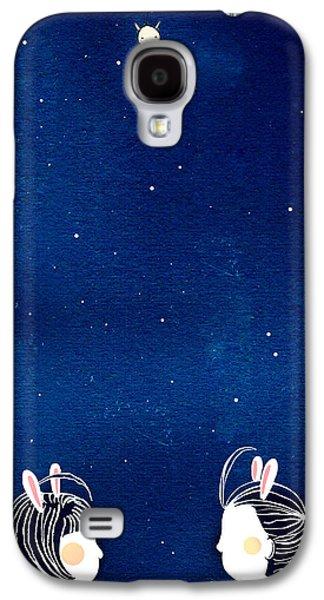 Chit Chat Galaxy S4 Case by Yoyo Zhao