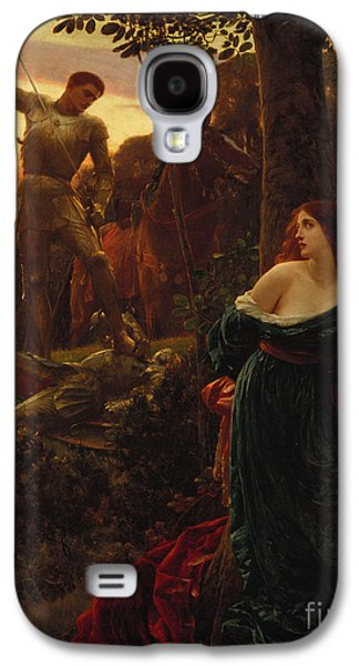 Knight Galaxy S4 Case - Chivalry by Sir Frank Dicksee