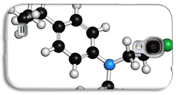 Chlorambucil Leukemia Drug Molecule Galaxy S4 Case by Molekuul