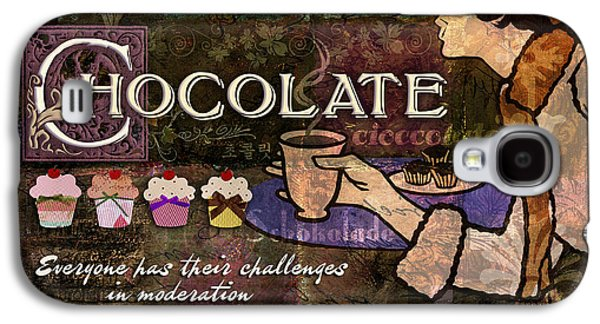 Chocolate Galaxy S4 Case