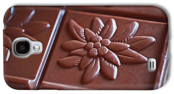 Chocolate Flower  Galaxy S4 Case