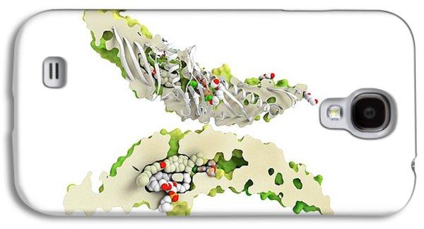 Cholesteryl Ester Transfer Protein Galaxy S4 Case by Ramon Andrade 3dciencia