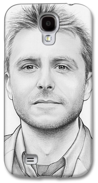 Chris Hardwick Galaxy S4 Case by Olga Shvartsur