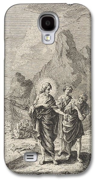 Christ Appears At The Sea Of Galilee, Jan Luyken Galaxy S4 Case