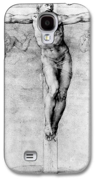 Christ On The Cross Galaxy S4 Case by Michelangelo Buonarroti