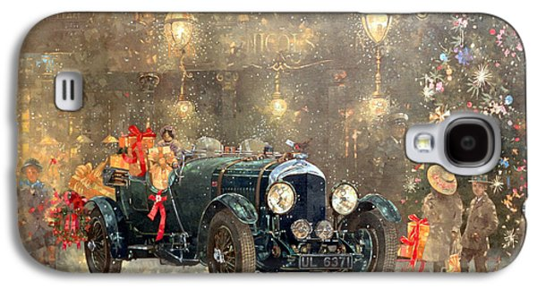 Christmas Bentley Galaxy S4 Case by Peter Miller